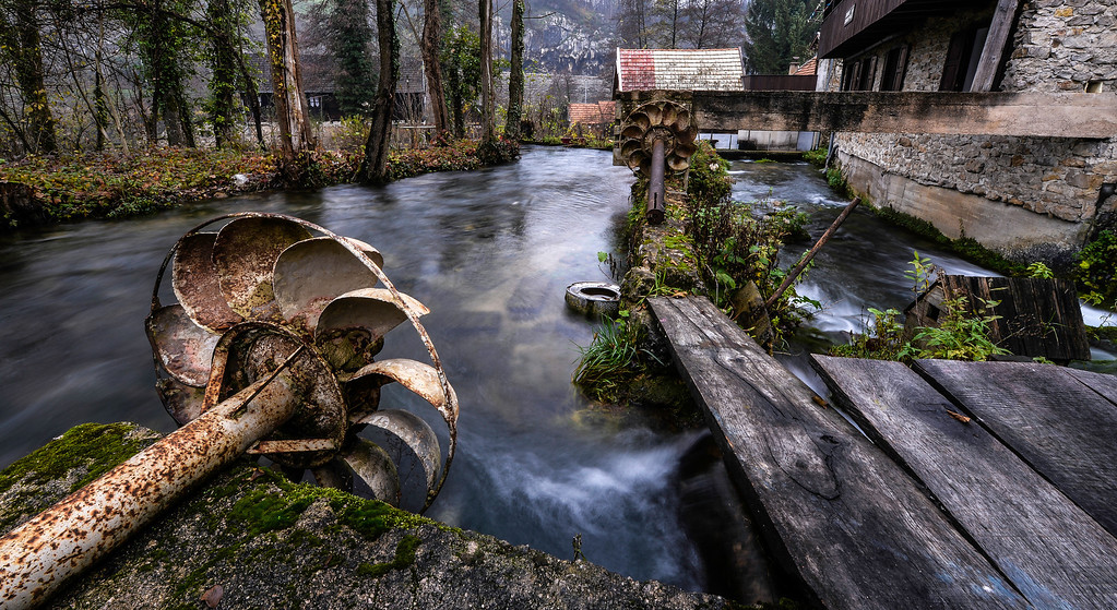 The Abandoned Watermill