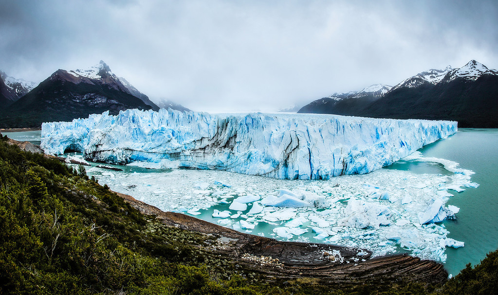 The Storm Above The Perito Moreno